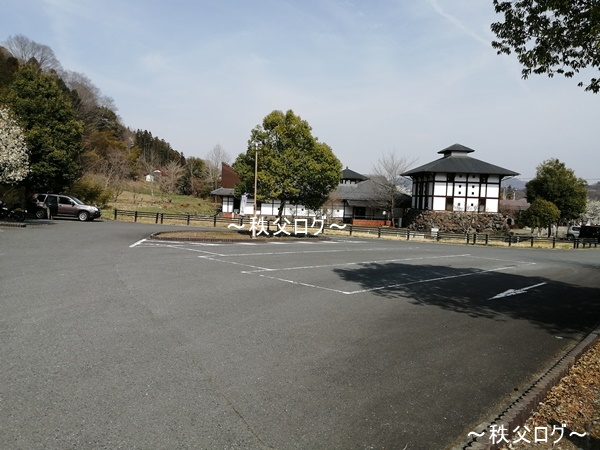 道の駅龍勢会館 駐車場